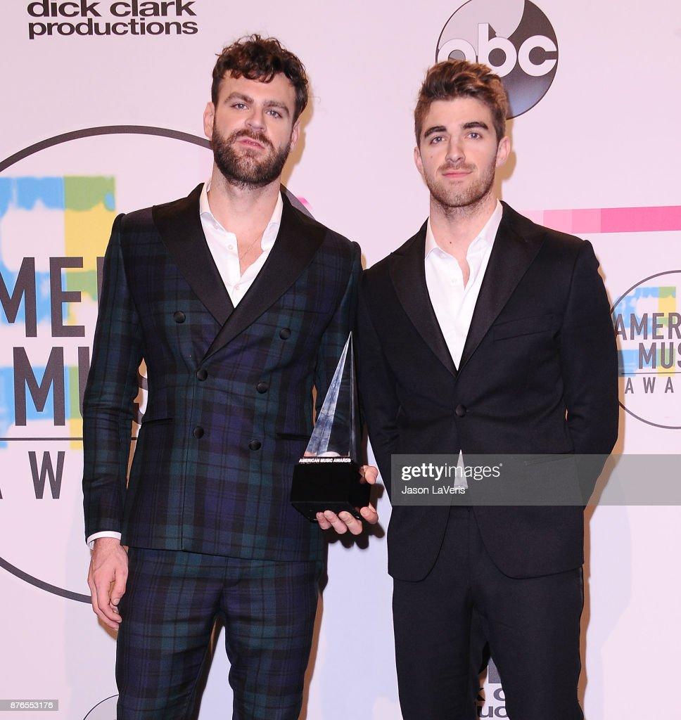 2017 American Music Awards - Press Room : Fotografia de notícias