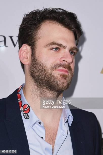 Alex Pall of The Chainsmokers attends PreGRAMMY Gala and Salute to Industry Icons Honoring Debra Lee at The Beverly Hilton on February 11 2017 in Los...