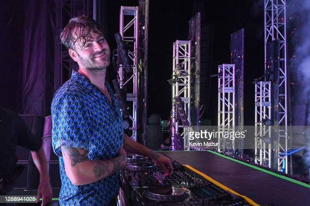 Alex Pall of The Chainsmokers performs during the 'Safe & Sound' Drive-In Concert Fundraiser Presented by JAJA Tequila and In The Know Experiences In...