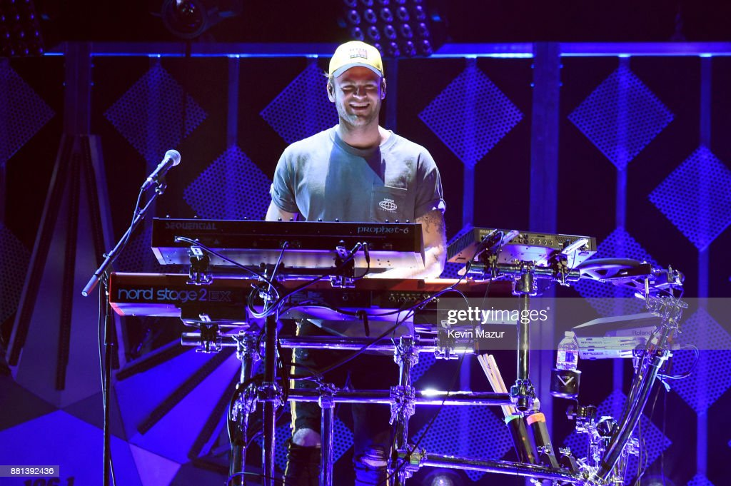 Alex Pall of The Chainsmokers performs onstage at 106.1 KISS FM's Jingle Ball 2017 Presented by Capital One at American Airlines Center on November 28, 2017 in Dallas, Texas.