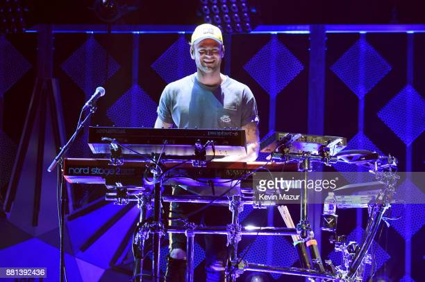 Alex Pall of The Chainsmokers performs onstage at 1061 KISS FM's Jingle Ball 2017 Presented by Capital One at American Airlines Center on November 28...