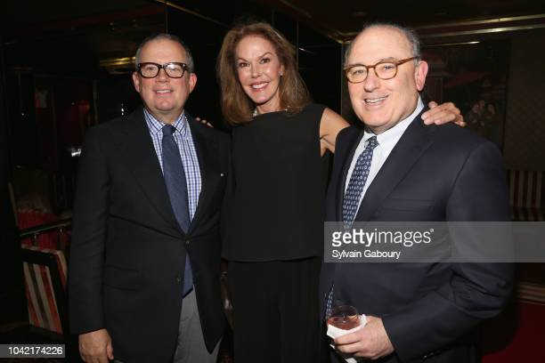 Alex Papachristidis Cece Cord and Dr Joel Kassimir attend David Patrick Columbia And Chris Meigher Toast The QUEST 400 At DOUBLES on September 27...