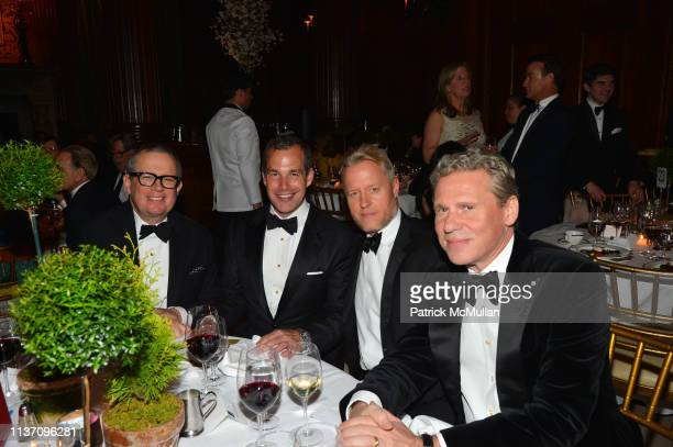 Alex Papachristidis Christopher Spitzmiller David Svanda and Scott Nelson attend New York School Of Interior Design Annual Gala at The University...