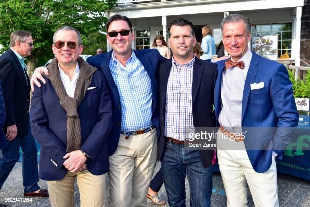 Alex Papachristidis Gordon Hoppe Michael Breault and Marshall Watson attend ARF Thrift Shop Designer Show House Sale at ARF Thrift Treasure Shop on...