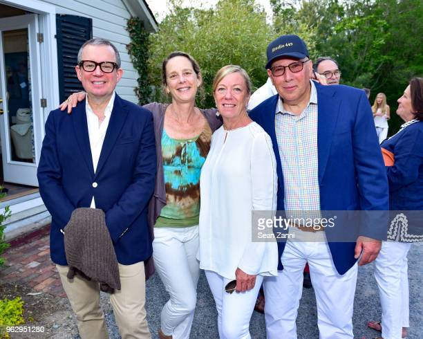 Alex Papachristidis Tria Giovan Kitty McCoy and Walter Sternley attend ARF Thrift Shop Designer Show House Sale at ARF Thrift Treasure Shop on May 26...