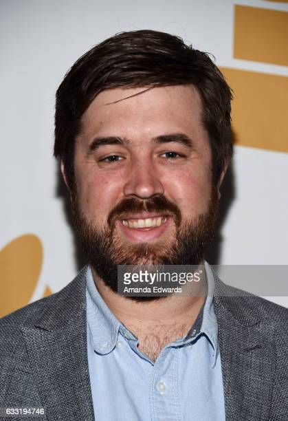 Alex Pasco arrives at The Recording Academy Los Angeles Chapter's celebration honoring the nominees of the 59th GRAMMY Awards at Fig Olive on January...