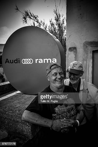 Alex Paterson and Thomas Fehlmann attend during Locus Festival 2016 on July 17 2016 in Locorotondo near Bari Italy