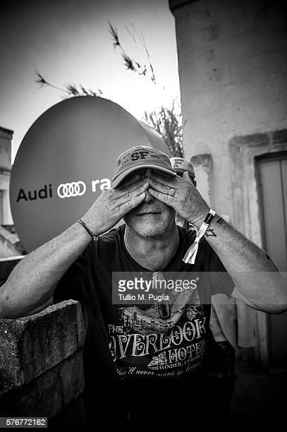 Alex Paterson poses during Locus Festival 2016 on July 17 2016 in Locorotondo near Bari Italy