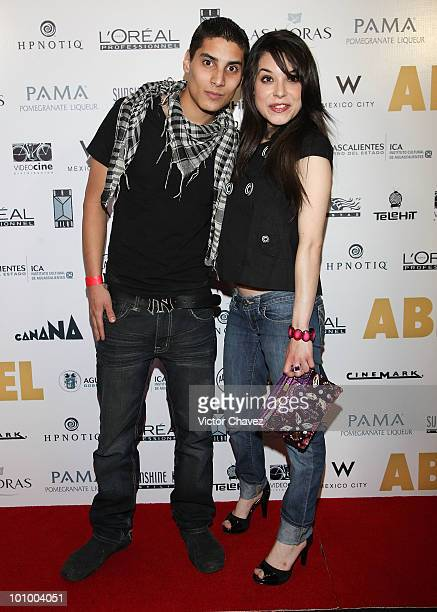 Alex Perea and Daniela Perea attend the 'Abel' Mexico City Premiere at Cinemark Reforma 222 on May 25 2010 in Mexico City Mexico