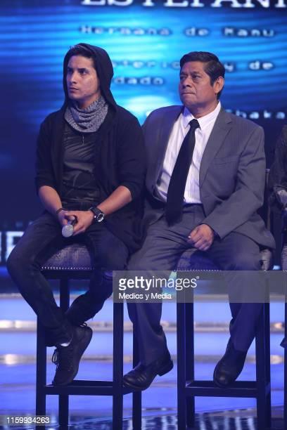 Alex Perea and Fermin Martínez during 'Sin Miedo a la Verdad' Presents Season 2 at Televisa San Angel on July 3, 2019 in Mexico City, Mexico.