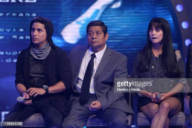 Alex Perea Fermin Martinez and Ligia Uriarte during 'Sin Miedo a la Verdad' Presents Season 2 at Televisa San Angel on July 3 2019 in Mexico City...