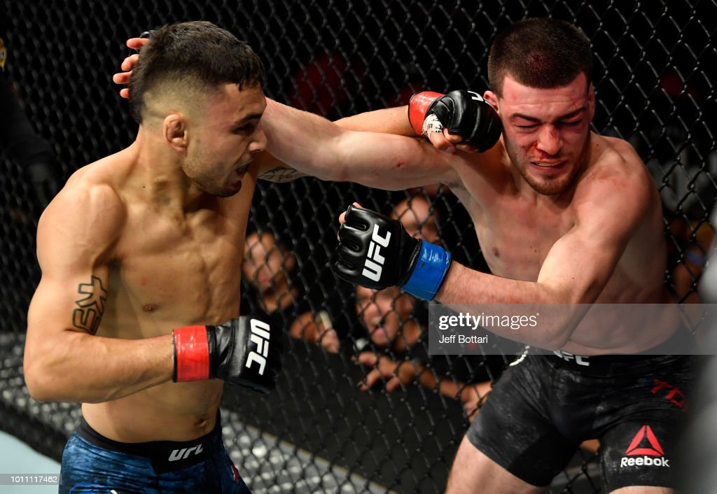 UFC 227: Perez v Torres : News Photo