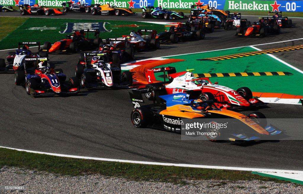 Formula 3 Championship - Round 8:Monza - First Race : News Photo