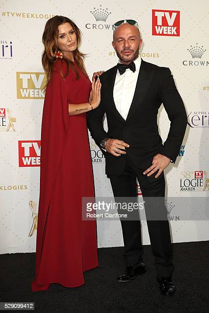 Alex Perry arrives at the 58th Annual Logie Awards at Crown Palladium on May 8 2016 in Melbourne Australia