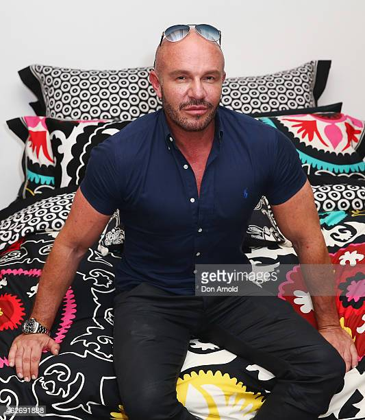 Alex Perry attends the Linen House Alex Perry 2015 season launch at Luxe Studios on February 3 2015 in Sydney Australia