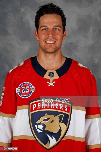 Alex Petrovic of the Florida Panthers poses for his official headshot for the 20182019 season on September 13 2018 at the BBT Center in Sunrise...