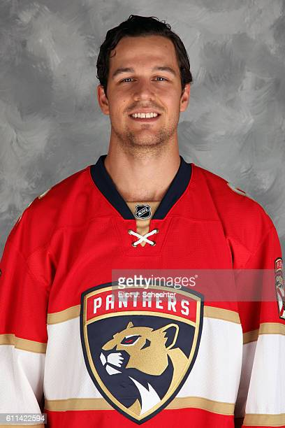 Alex Petrovic of the Florida Panthers poses for his official headshot for the 20162017 season on September 22 2016 at the BBT Center in Sunrise...