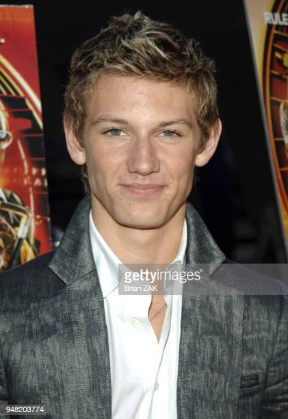Alex Pettyfer arrives to the New York Premiere of Alex Rider Operation Stormbreaker held at The Intrepid Sea Air Space Museum New York City BRIAN ZAK