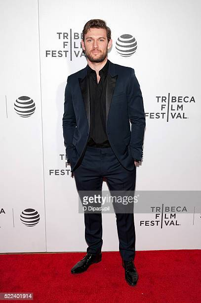 Alex Pettyfer attends the 'Elvis Nixon' premiere during the 2016 Tribeca Film Festival at John Zuccotti Theater at BMCC Tribeca Performing Arts...