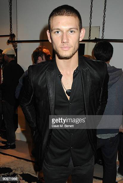 Alex Pettyfer attends the launch party of the Kinder Aggugini popup store at Kinder Aggugini on September 19 2009 in London England