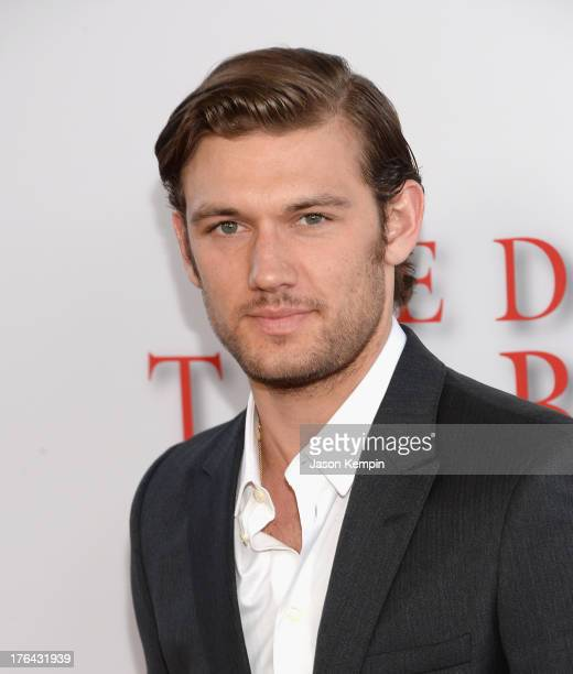 Alex Pettyfer attends the Los Angeles premiere of 'Lee Daniels' The Butler' at Regal Cinemas LA Live on August 12 2013 in Los Angeles California