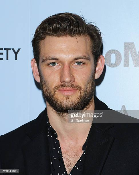 Alex Pettyfer attends the screening of 'A Bigger Splash' hosted by Fox Searchlight Pictures with The Cinema Society at Museum of Modern Art on April...