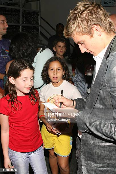 Alex Pettyfer during The Weinstein Company's Premiere of Alex Ryder Operation Stormbreaker After Party at The Intrepid Sea Air Space Museum at Pier...