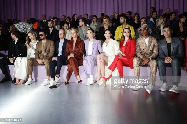 Alex Pettyfer, Toni Garrn, Orlando Bloom, Mark Langer, Amber Valletta, Cara Delevingne, Ashley Benson, Madelaine Petsch, Keith Powers and Tommy...