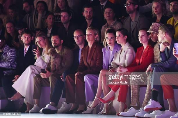 Alex Pettyfer, Toni Garrn, Orlando Bloom, Mark Langer, Amber Valletta, Cara Delevingne, Ashley Benson, Madelaine Petsch, Keith Powersm and Tommy...