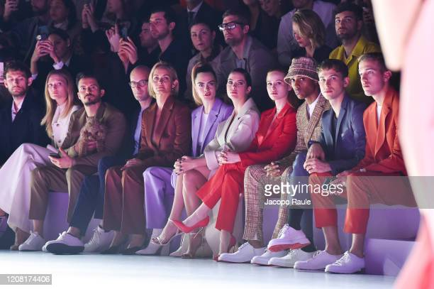 Alex Pettyfer Toni Garrn Orlando Bloom Mark Langer Amber Valletta Cara Delevingne Ashley Benson Madelaine Petsch Keith Powers Tommy Dorfman and Peter...
