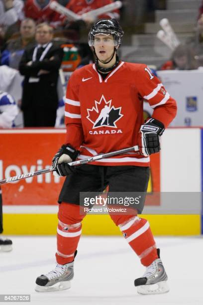 Alex Pietrangelo of Team Canada skates during the game against Team Kazakhstan at the IIHF World Junior Championships at Scotiabank Place on December...