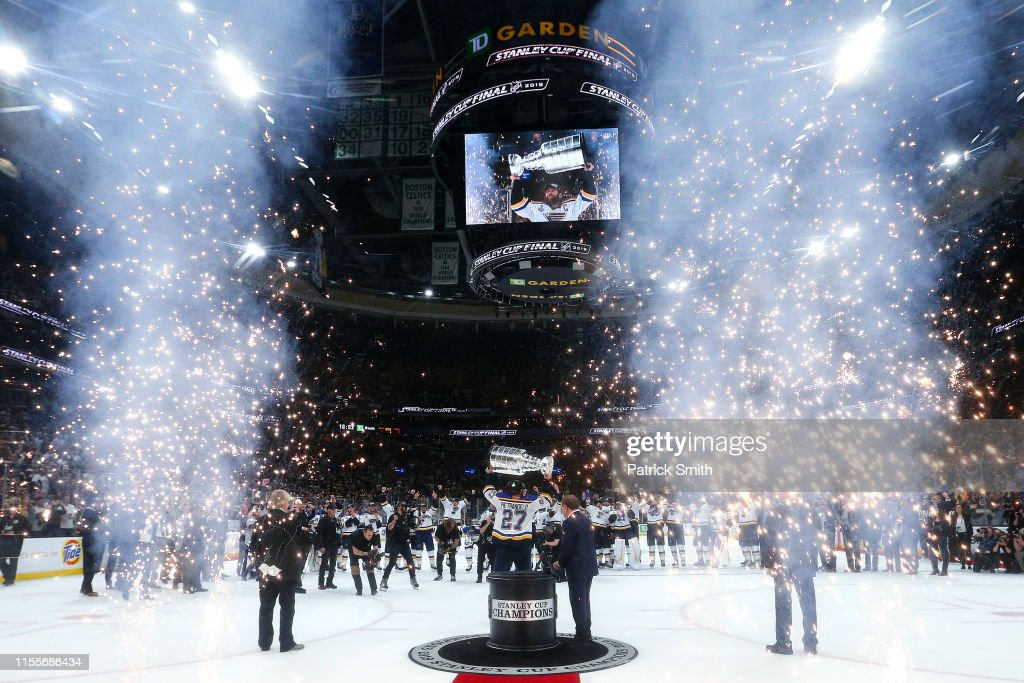 2019 NHL Stanley Cup Final - Game Seven : News Photo