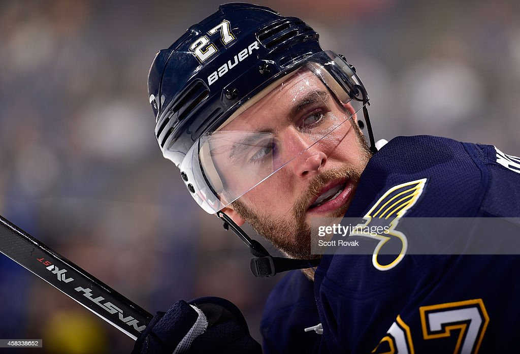 Alex Pietrangelo Of The St Louis Blues Looks On During A Game News Photo Getty Images