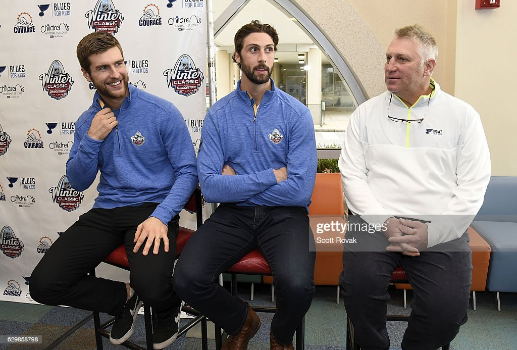 Alex Pietrangelo Of The St Louis Blues Robert Bortuzzo Of The St News Photo Getty Images