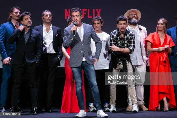 Alex Pina attends the red carpet of 'La Casa De Papel' 3rd Season by Netflix on July 11 2019 in Madrid Spain