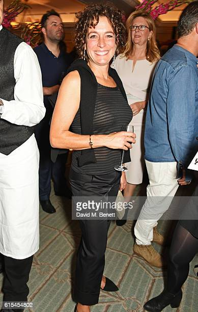 Alex Polizzi attends the launch of 'Fortnum Mason The Cook Book' by Tom Parker Bowles at Fortnum Mason on October 18 2016 in London England