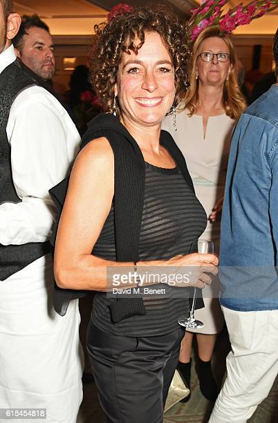 Alex Polizzi attends the launch of Fortnum Mason The Cook Book by Tom Parker Bowles at Fortnum Mason on October 18 2016 in London England