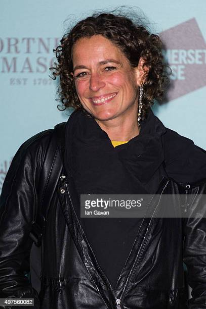 Alex Polizzi attends the launch of 'Skate @ Somerset House' at Somerset House on November 17 2015 in London England