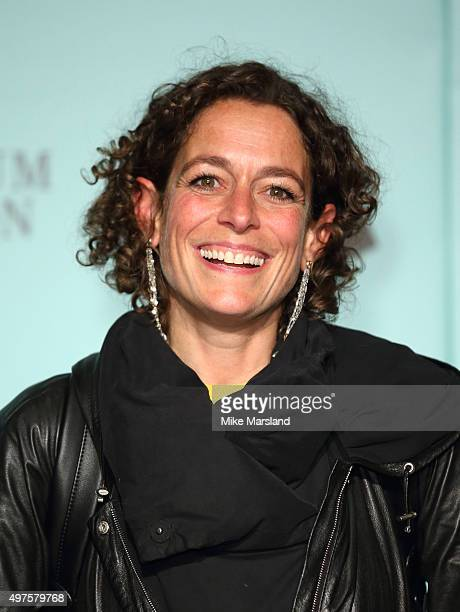 Alex Polizzi attends the launch of Skate @ Somerset House at Somerset House on November 17 2015 in London England