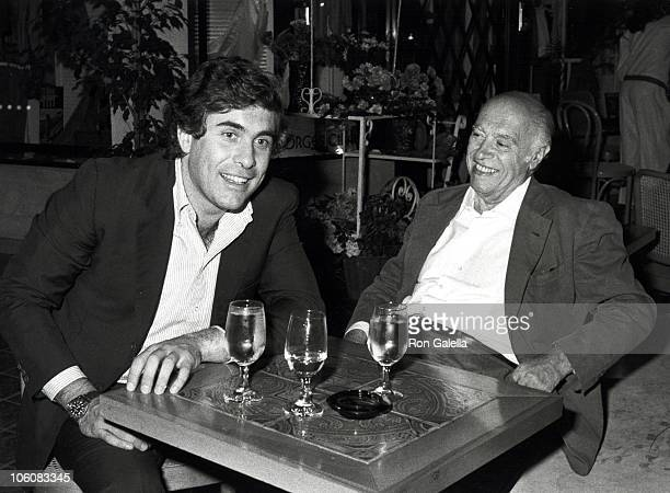 Alex Ponti and Carlo Ponti during Evening In Rome Party April 22 1982 at Grand Passage in Beverly Hills California United States