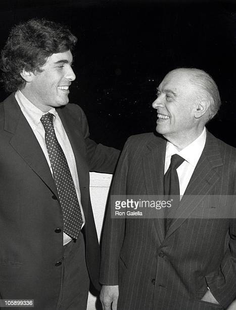 Alex Ponti and Carlo Ponti during Reception Honoring New Bank President Jim Judge at Commerical Bank of California in Beverly Hills California United...
