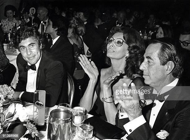 Alex Ponti Sophia Loren and Guest