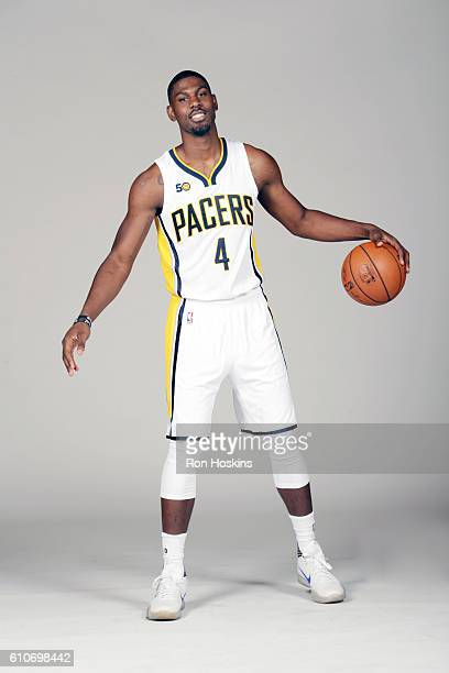 Alex Poythress poses for a portrait during 2016 Media Day at Bankers Life Fieldhouse on September 26 2016 in Indianapolis Indiana NOTE TO USER User...