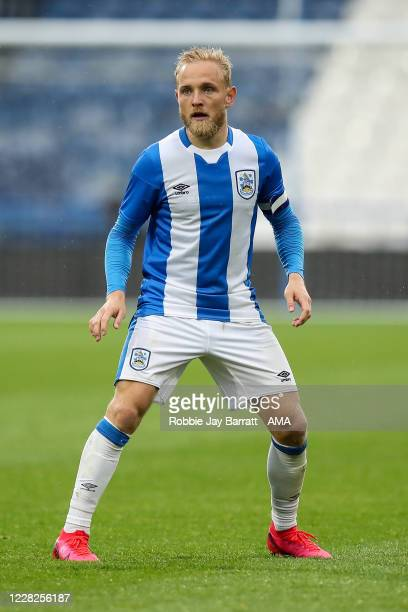 Alex Pritchard of Huddersfield Town during the Pre Season Friendly fixture between Huddersfield Town and Manchester United U23 at The John Smiths...
