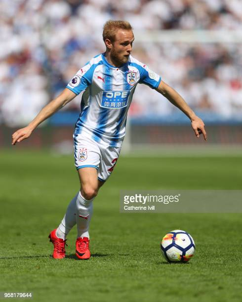 Alex Pritchard of Huddersfield Town during the Premier League match between Huddersfield Town and Arsenal at John Smith's Stadium on May 13 2018 in...