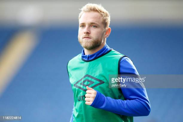 Alex Pritchard of Huddersfield Town during the Sky Bet Championship match between Blackburn Rovers and Huddersfield Town at Ewood Park on October 19,...