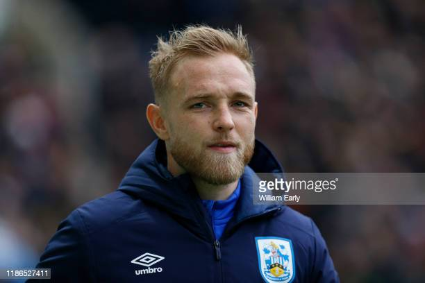 Alex Pritchard of Huddersfield Town during the Sky Bet Championship match between Preston North End and Huddersfield Town at Deepdale on November 09,...