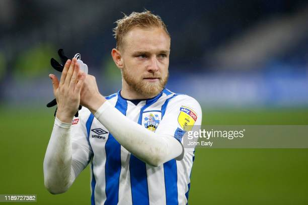 Alex Pritchard of Huddersfield Town during the Sky Bet Championship match between Huddersfield Town and Birmingham City at John Smith's Stadium on...