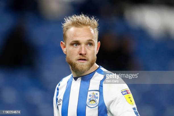 Alex Pritchard of Huddersfield Town during the Sky Bet Championship match between Huddersfield Town and Swansea City at John Smith's Stadium on...