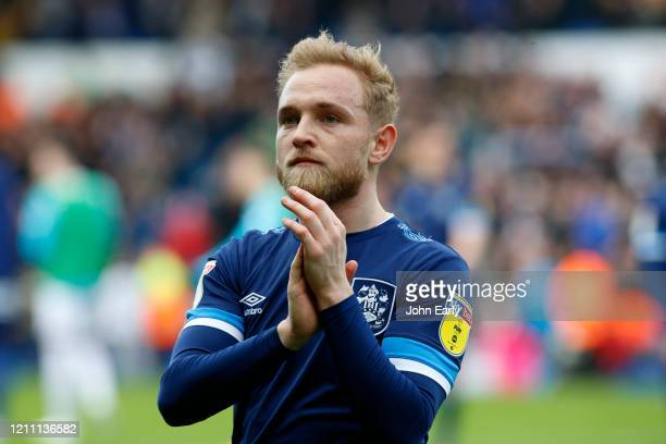 Alex Pritchard of Huddersfield Town during the Sky Bet Championship match between Leeds United and Huddersfield Town at Elland Road on March 07 2020...
